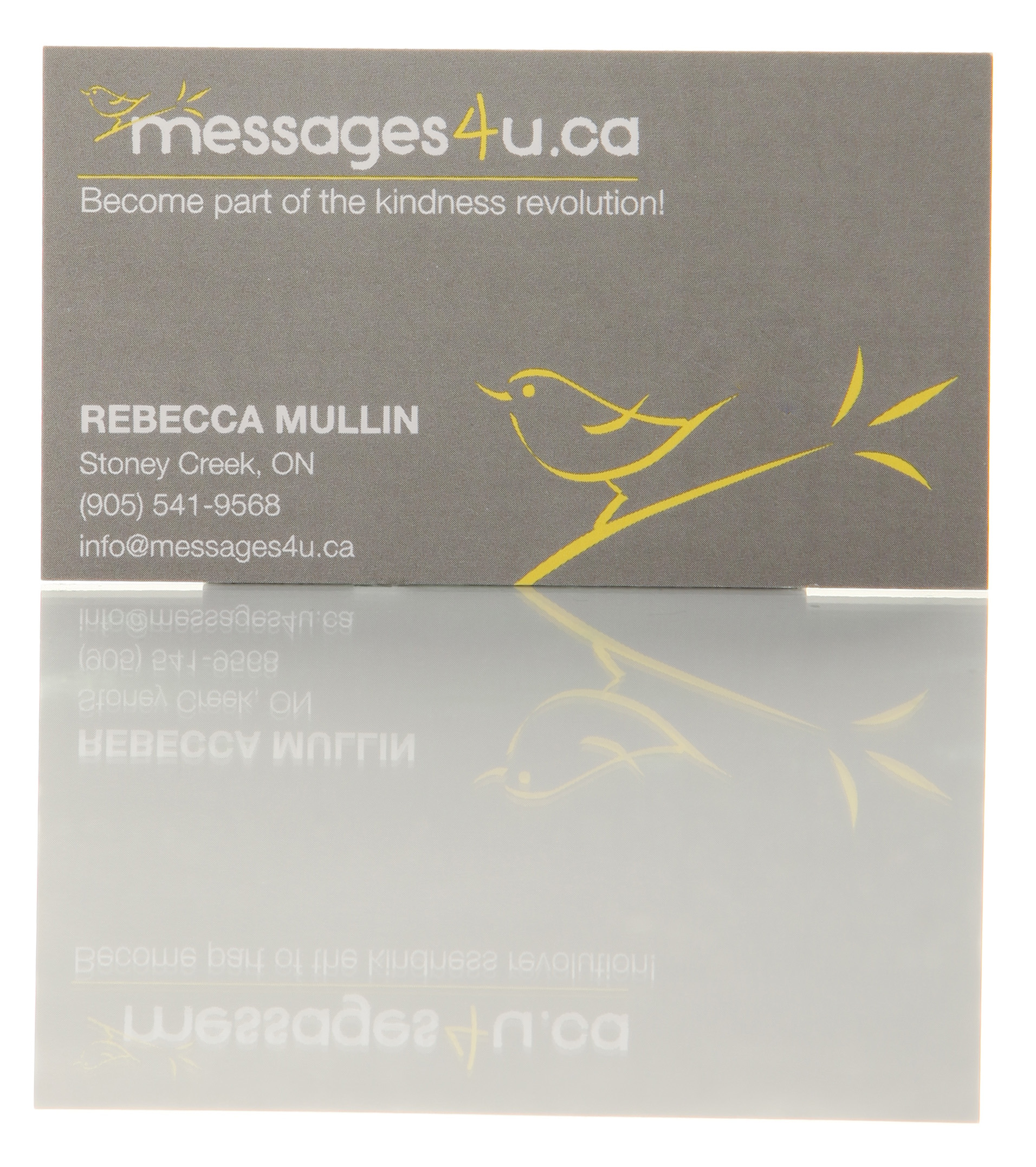 Messages 4U Business Card